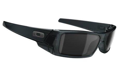 Oakley Gascan Crystal Black/Black Iridium Sunglasses