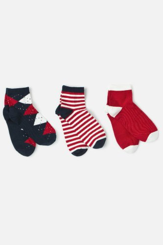 L!VE Women's 3 Pack Sock