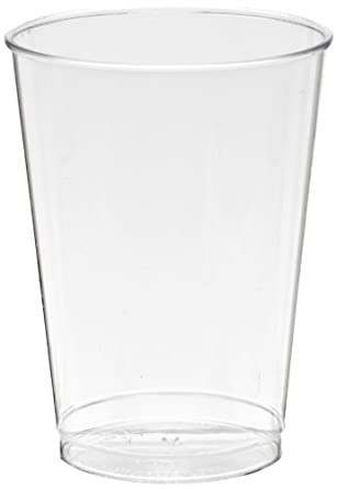 Comet T7T 7 oz Clear Polystyrene Classic Crystal Tall Tumbler (20 Packs of 25)