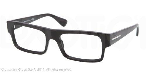pradaPrada PR24PV Eyeglasses-1AB/1O1 Black-55mm
