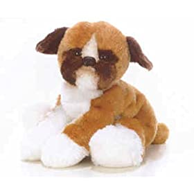 Plush Baxter Boxer Puppy