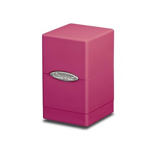 Pink Satin Tower Deck Boxes