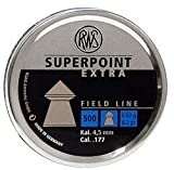 RWS SUPERPOINT EXTRA PELLETS .177 (4.5MM) 8.2GR FIELD LINE POINTED PELLETS