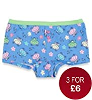 Pure Cotton Frog Print Boxers