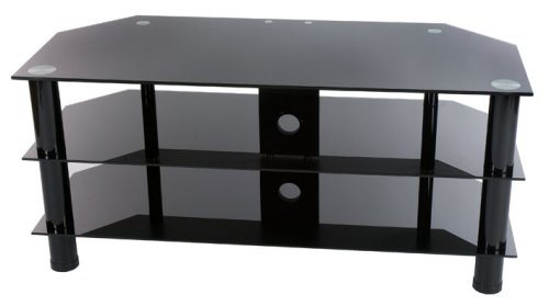 Levv - Glass Stand For Plasma  &  LCD TV Up To 50
