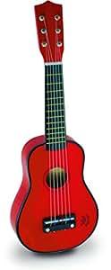 Vilac - 8306 - 1er Age - Musique - Guitare rouge