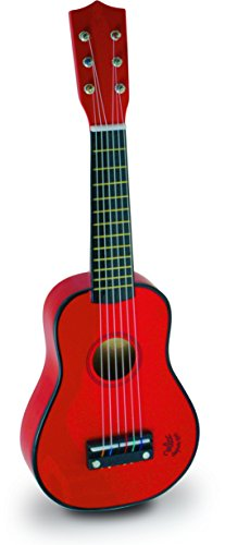 Vilac Baby Guitar Musical Toy, Red Children's