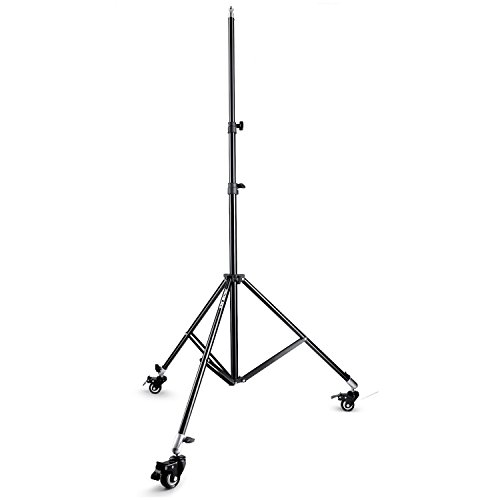 Slow Dolphin Photography Studio Heavy Duty Light Stand Tripod with Caster Wheels (5 8 Inch Spigot compare prices)