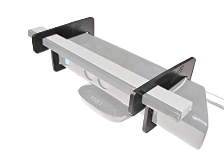 Bracket for Kinect and Wii Sensor Bar