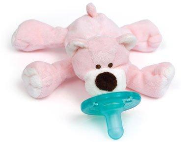 Wubbanub Pink Bear front-89740