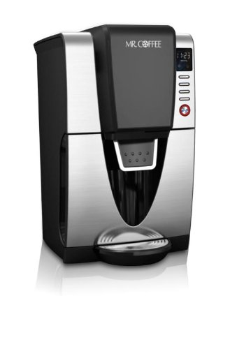 Mr. Coffee BVMC-ZH1 Power Serve 12-Cup Coffeemaker, Stainless Steel