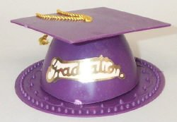 Purple Graduation Cap