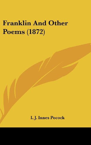 Franklin And Other Poems (1872)