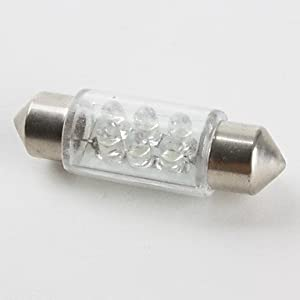 Foco de Coche LED 6 de 36mm (DC12V) de LED 123 - BebeHogar.com