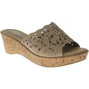 Spring Step Women Frivolous Sandals,Beige Leather,38 front-571803
