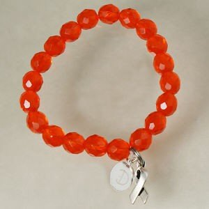 Engraved Multiple Sclerosis Awareness Gift Bracelet