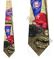 Philadelphia Phillies Nostalgia 2 Silk Necktie at Amazon.com