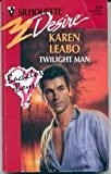 img - for Twilight Man (Silhouette Desire) book / textbook / text book