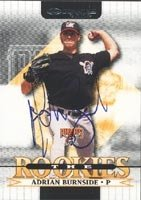 Adrian Burnside Altoona Curve - Pirates Affiliate 2002 Donruss The Rookies... by Hall of Fame Memorabilia