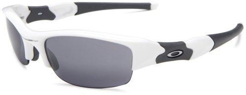 Oakley Flak Jacket Oo9008 White Carbon Fiber Frame/Black Iridium Lens Plastic Sunglasses