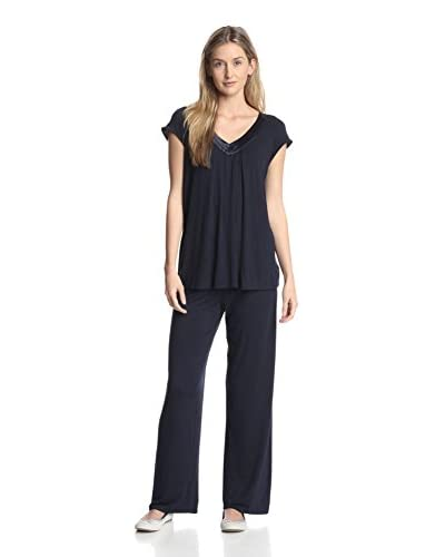 Midnight by Carole Hochman Women's Jersey Knit Pajama Set