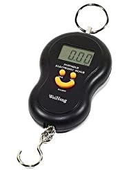 40kg Handheld LCD Display Electronic Digital Travel Luggage Weighing Scale