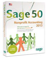 NEW Sage 50 Nonprofit Accounting 2013 5-user