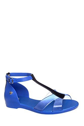 Dance Flat Ankle Strap Sandal