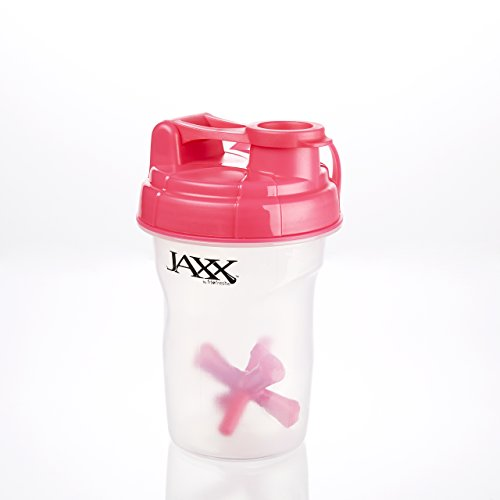 20 Oz. Jaxx Shaker Bottle (Pink) front-238421