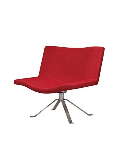 International Designs USA Jetro Leisure Chair, Red