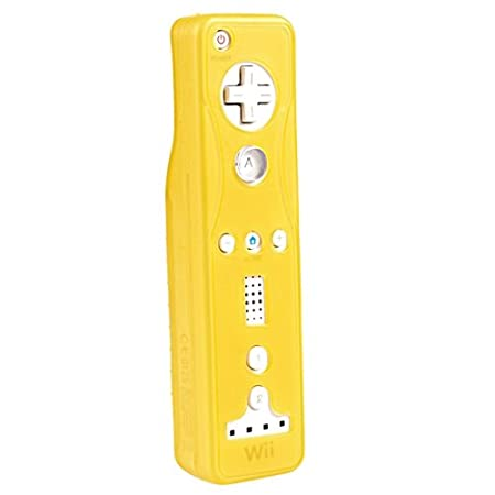 eForCity Silicone Skin Case Compatible with Nintendo Wii Remote Controller, Orange