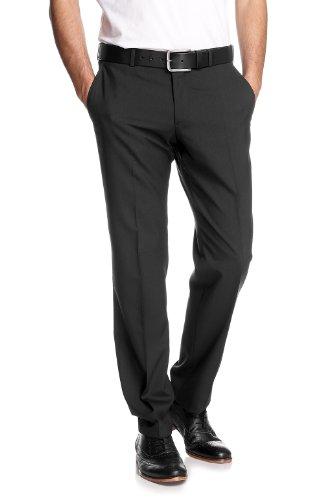 Esprit Men's Regular Fit Two-Piece Suit Black M