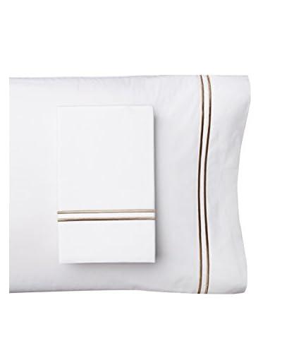Malouf Cotton Percale Pillowcase Set
