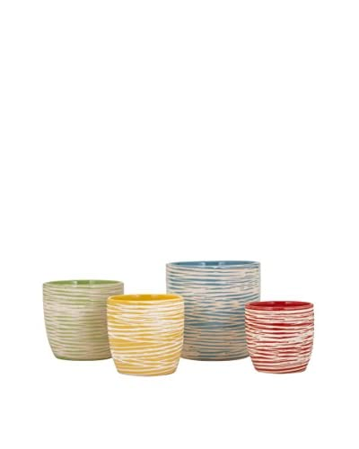Max & Nellie Set of 4 Garin Planters As You See