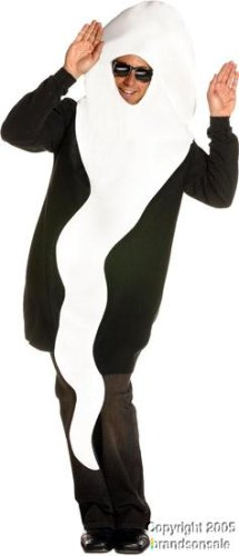 Adult Men's Funny Sperm Halloween Costume