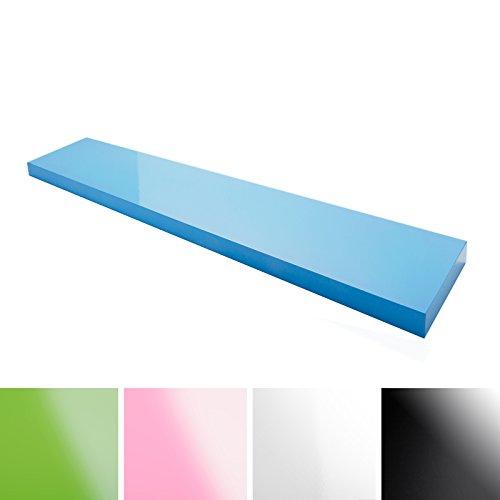 casa-pura-Design-Wandregal-Stockholm-Hochglanz-freischwebend-versteckte-Halterung-gesundheitsfreundliche-Materialien-in-5-Farben-und-3-Lngen-blau-100cm