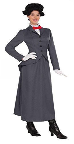 Halloween 2017 Disney Costumes Plus Size & Standard Women's Costume Characters - Women's Costume Characters Women's English Nanny Mary Poppins Costume - L (10/14) or XL (14/20) Plus Size