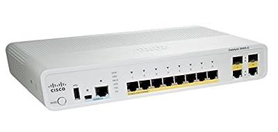 Cisco WS-C2960C-8TC-L 2960C 8-Port Fast Ethernet Catalyst Switch