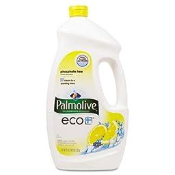 Palmolive ECO Automatic Dishwashing Gel, Lemon Splash, 75 Ounce