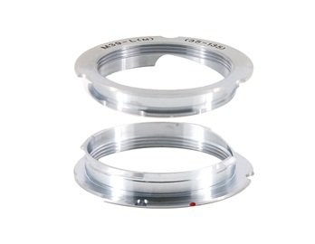 M39 Lsm Ltm 35-135 Mount Lens For Leica M Camera Adapter (Silver)