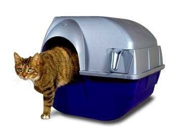 Omega Paw Roll'n Clean Self Cleaning Litter Box