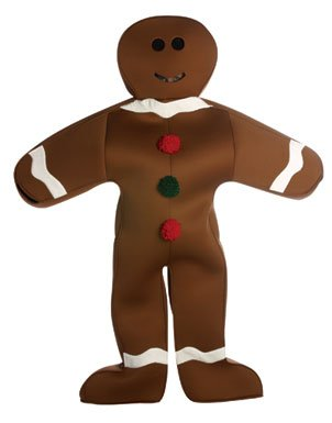 Rasta Imposta Mr. Gingerbread Man Costume