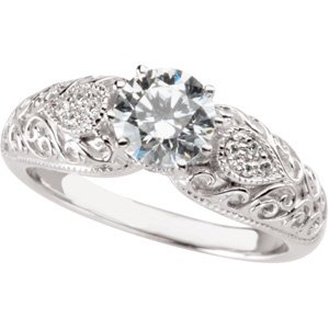 White Gold Diamond Fashion Rings Women s k White gold CT