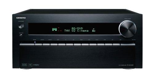 Onkyo PR-SC5509 (B) 9.2 AV-Vorverstärker (THX Ultra2 Plus, HQV, Netzwerk, DTS-Neo:X, MultEQ XT32/DSX, XLR-Ausgänge) schwarz