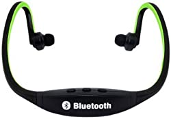 3Keys Bluetooth Headset with FM and Call-in Mode Wireless Bluetooth Headset (Green)