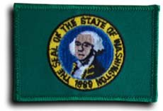 Washington - State Rectangular Patches - Buy Washington - State Rectangular Patches - Purchase Washington - State Rectangular Patches (Flagline.com, Home & Garden,Categories,Patio Lawn & Garden,Outdoor Decor,Banners & Flags)