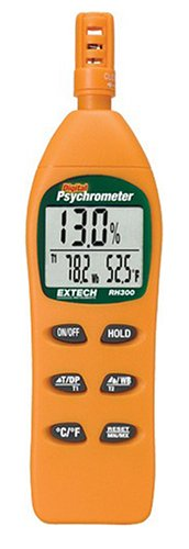 Extech RH300 Humidity Meter with Dew Point - 1