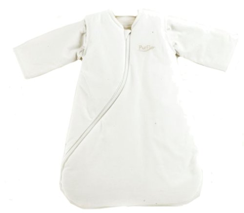PurFlo SleepSac 2.5 Tog for 0 - 3 Months (Plain White)