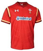 Wales WRU 2015/16 Home Replica Rugby Shirt - size M