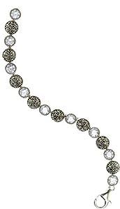 Judith Jack Round Links Bracelet
